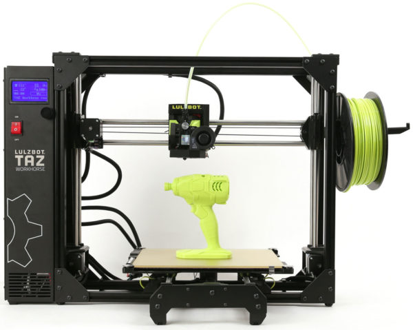 Lulzbot TAZ Workhorse 3D Printer