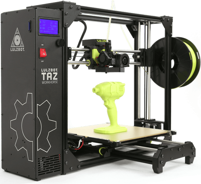 LulzBot 3D Printer TAZ Workhorse