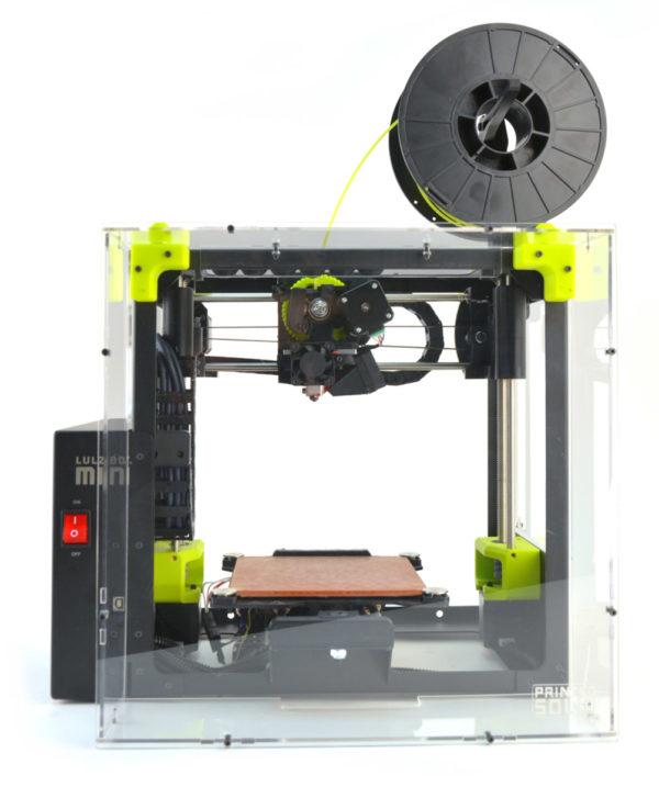 LulzBot Mini Plastic Enclosure Front Angle